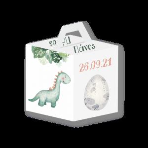Χάρτινο κουτί  Δεινόσαυρος