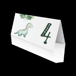 Αρίθμηση Τραπεζιού Δεινόσαυρος