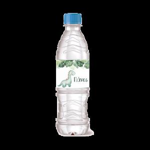 Ετικέτα Μπουκαλιού Νερού Δεινόσαυρος