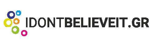 i don't believe it logo